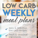 Low Carb Weekly Meal Plans