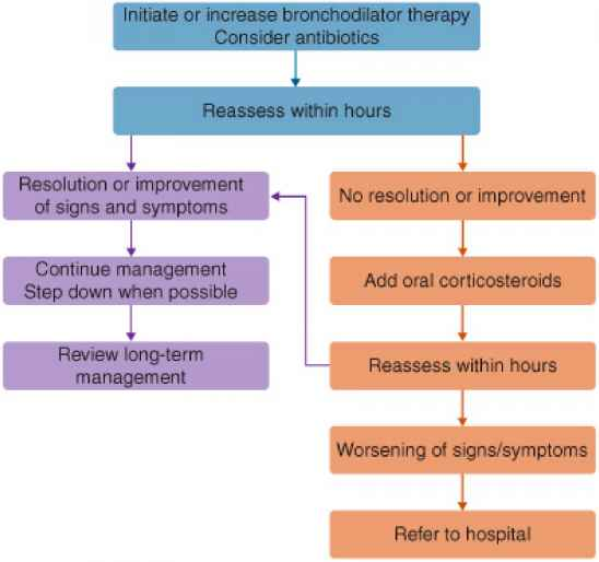 Gold Copd Treatment Algorithm