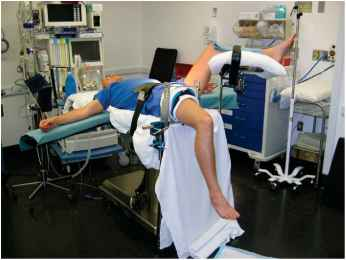 Knee Arthroscopy Position